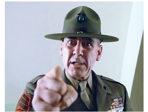 Personality ... MBTI Enneagram Sgt. Hartman (Full Metal Jacket) ... loading picture