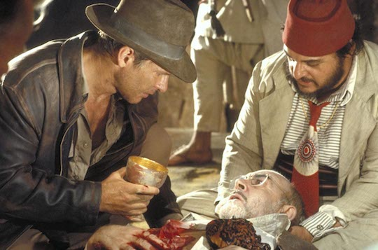 Harrison FORD, Sean CONNERY, John RHYS-DAVIES